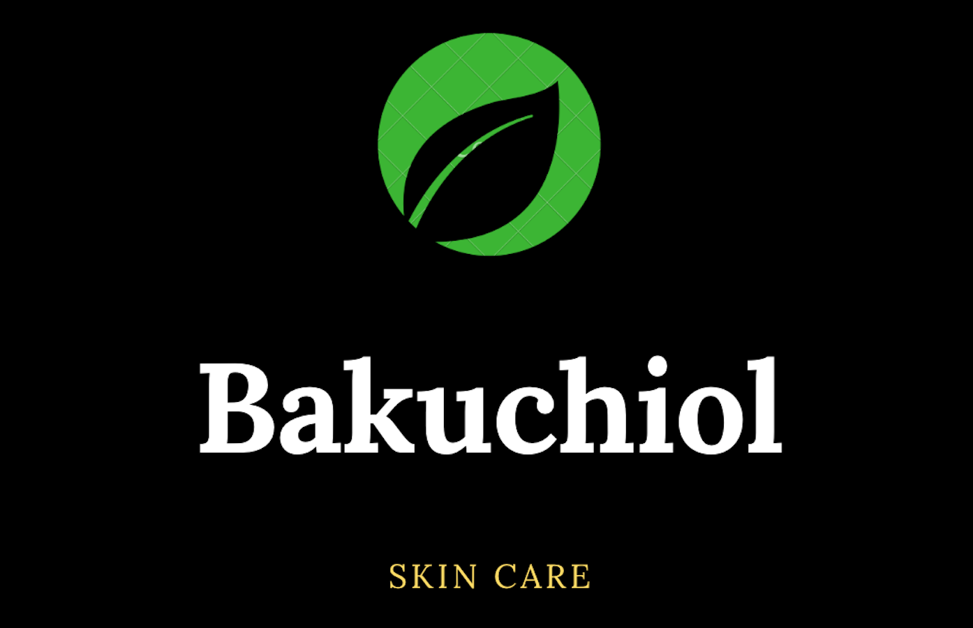 Bakuchiol Skin Care Logo